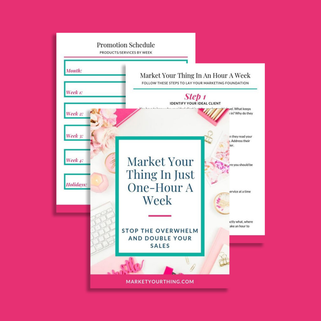 double your sales | Brenda Llamas | Market Your Thing
