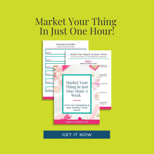 just one hour   Brenda Llamas   Market Your Thing